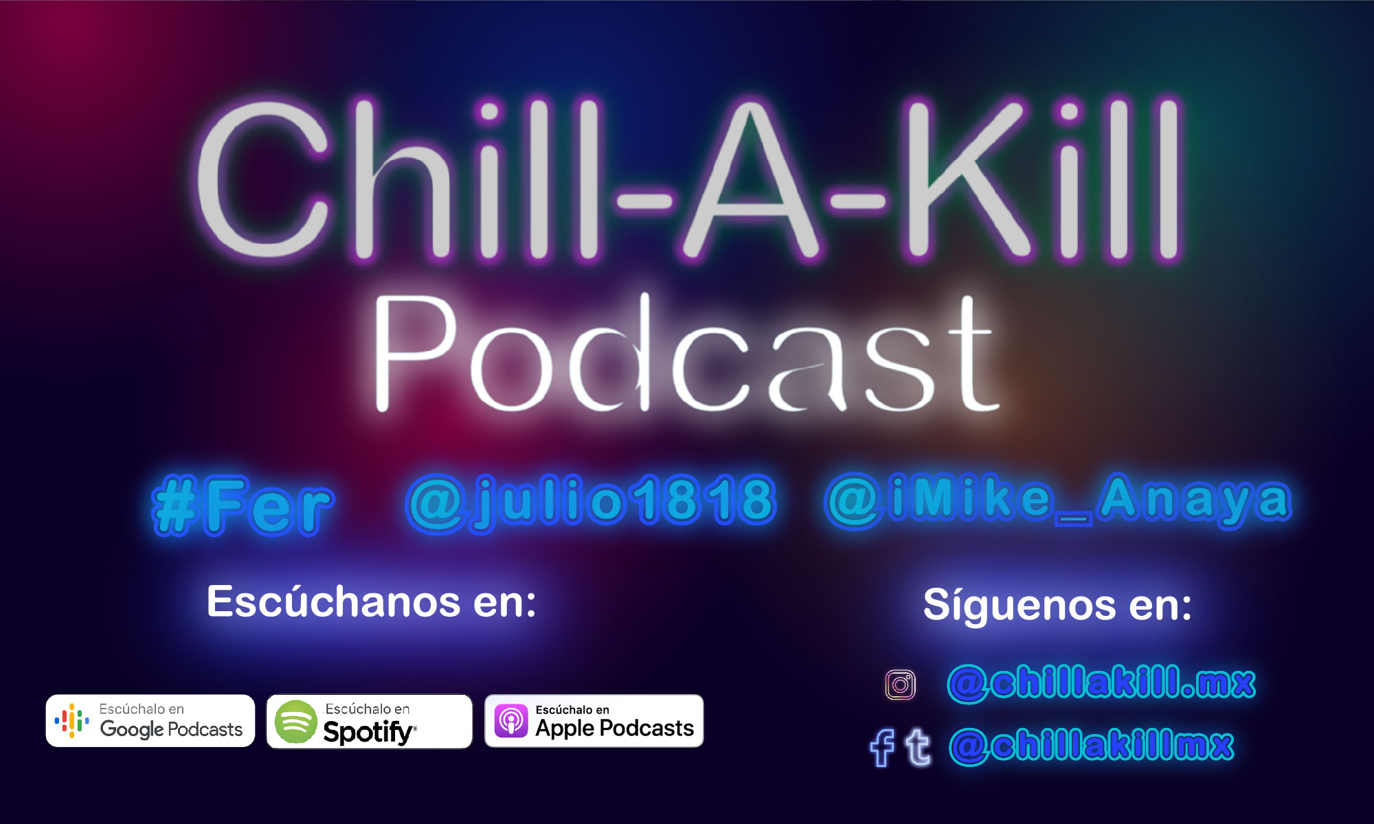 Chill-A-Kill Podcast